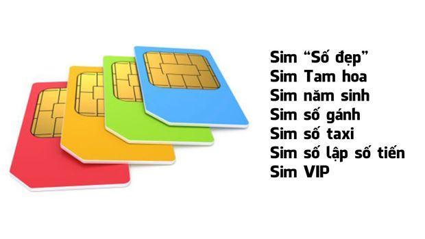 Các loại sim số đẹp Viettel tại Sim3mien.com