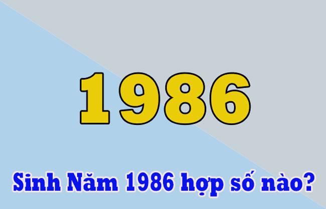 Kinh nghiệm chọn sim số đẹp cho người sinh năm 1986