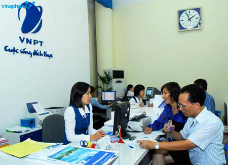 Tìm Địa chỉ cửa hàng giao dịch của Vinaphone tại Hà Nội