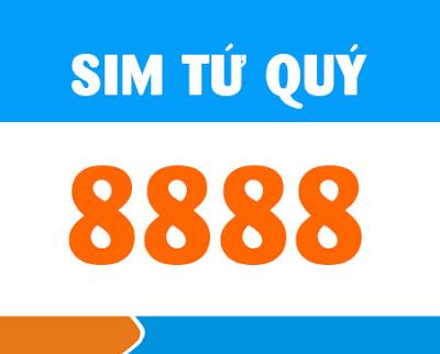 Sim tứ quý 8888 rất được giới kinh doanh yêu thích
